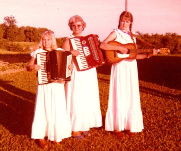 Becky, Verna, & Julie Livermore - 1981