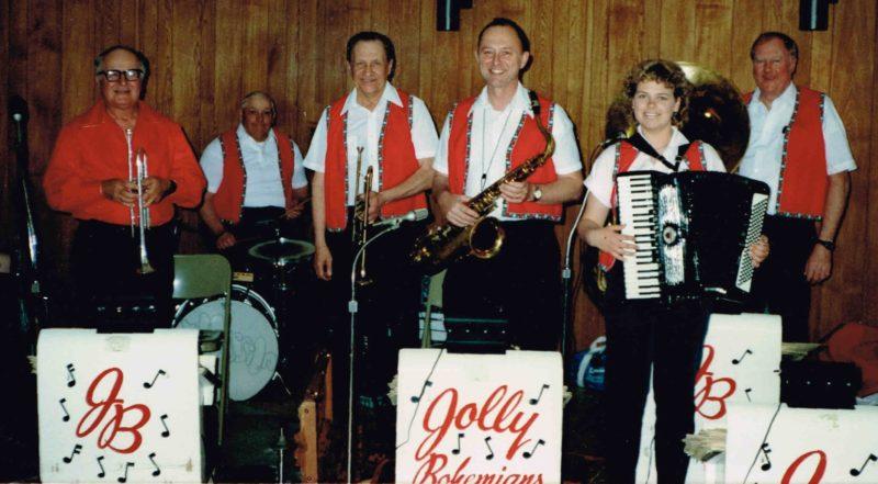 Ed Ulch & The Jolly Bohemians - 1988